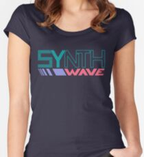 DX Synthwave Women's Fitted Scoop T-Shirt