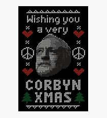 Wishing You A Very Corbyn Xmas Photographic Print
