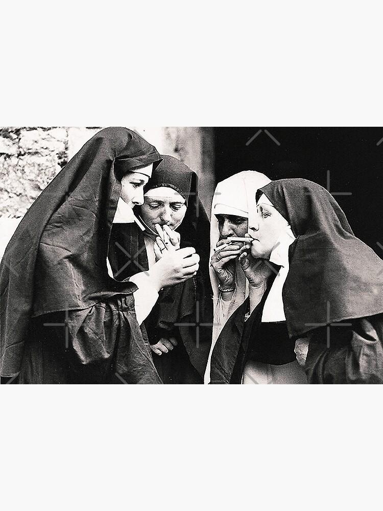 Smoking Nuns by Beltschazar