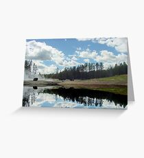 Reflections of Yellowstone Greeting Card