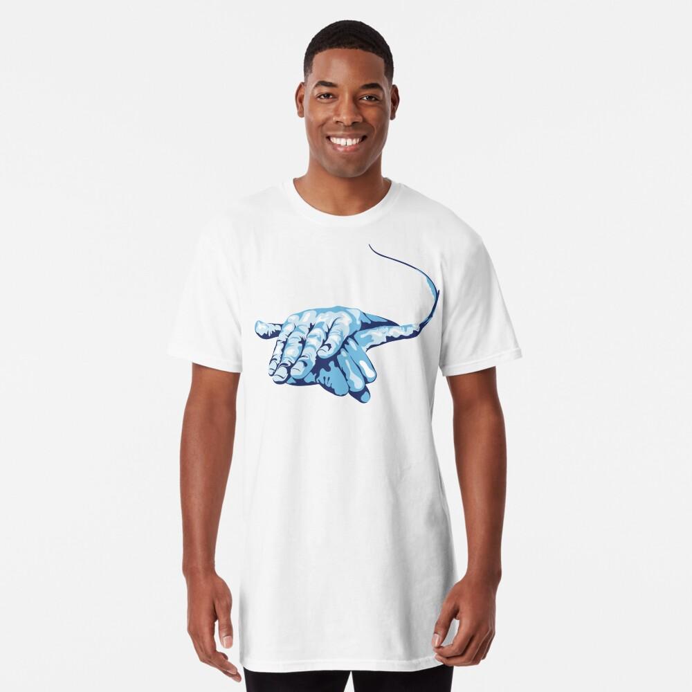 Stingray Hand Signal Long T-Shirt