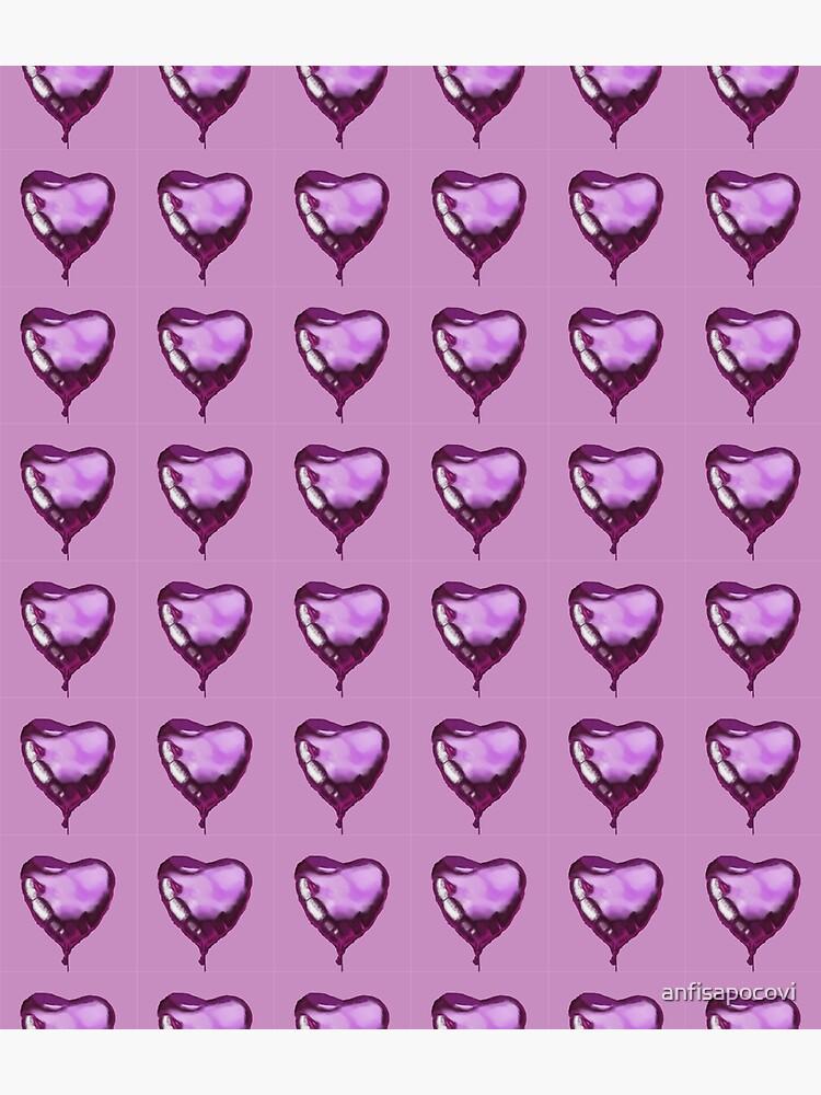 Heart shaped balloon by anfisapocovi