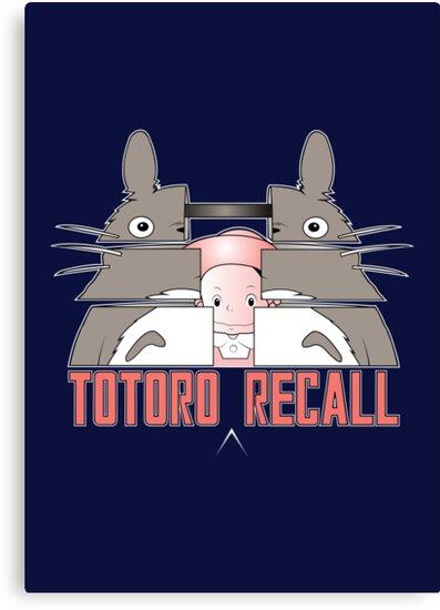 Totoro Recall by GordonBDesigns