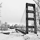 Bridge over the Methow by Randy Richards