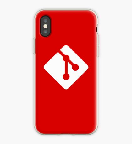 Git for iPhone - White logo iPhone Case