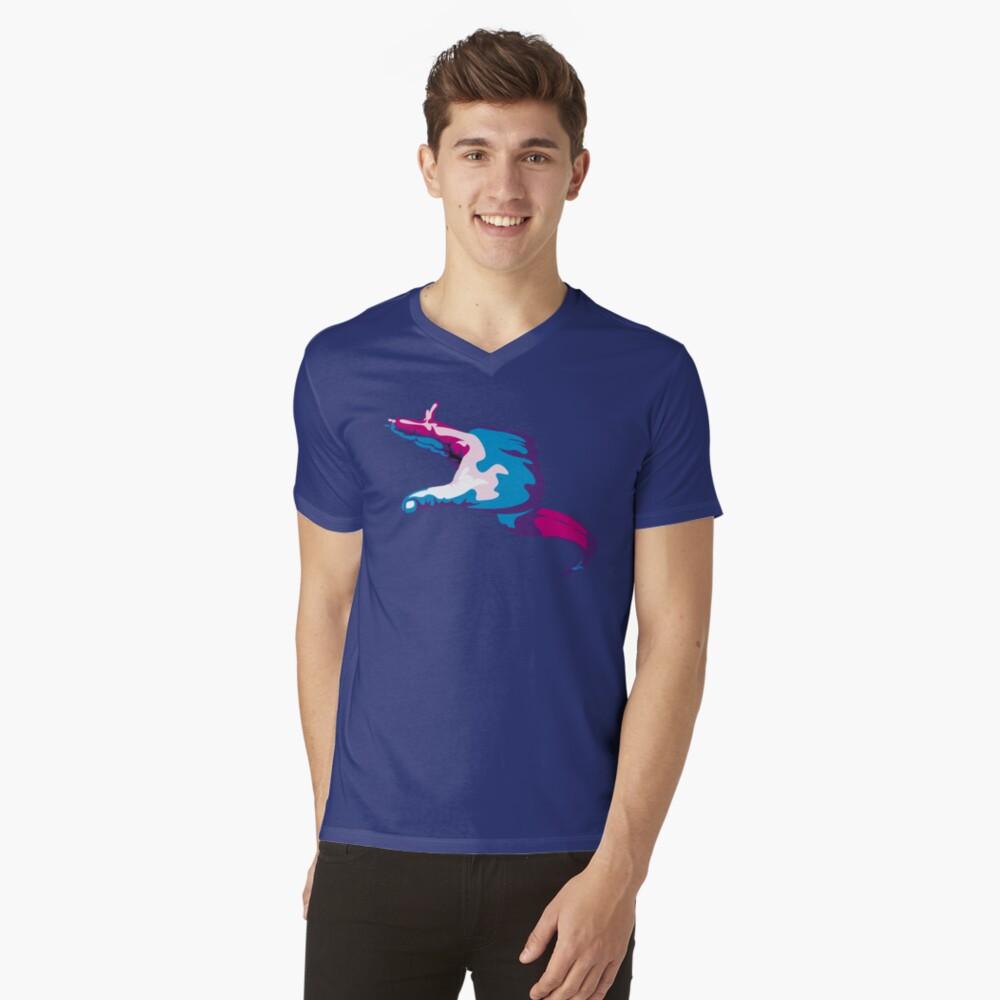 Moray Eel Hand Signal V-Neck T-Shirt