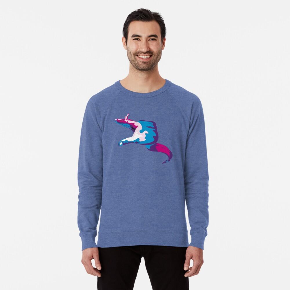 Moray Eel Hand Signal Lightweight Sweatshirt