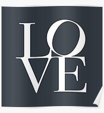 Love in Slate Grey Poster