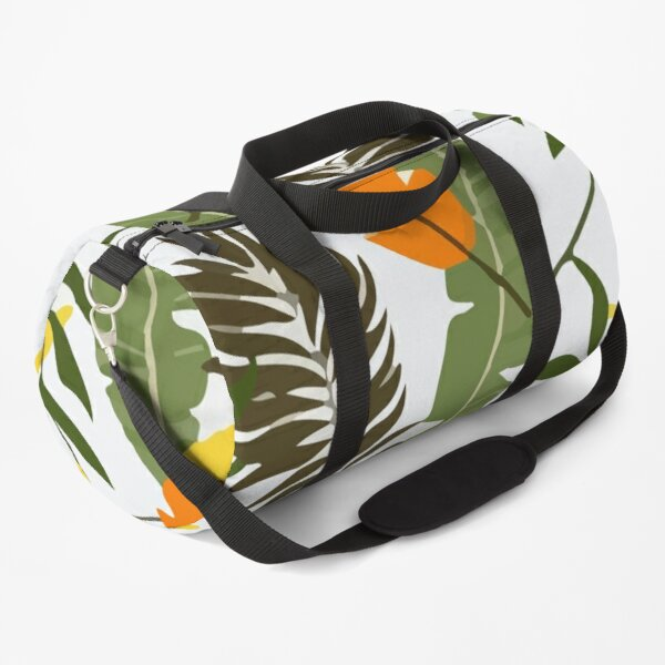 Tropical hawaii pattern Duffle Bag