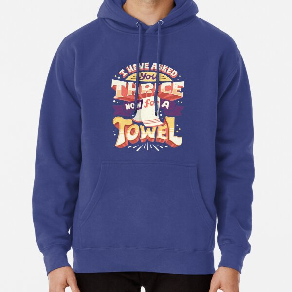 I have asked you thrice  Pullover Hoodie