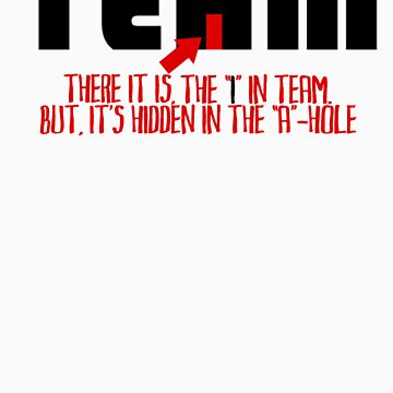 The I in Team by ItsBadger
