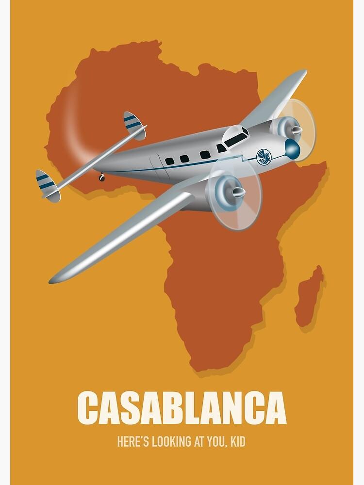 Casablanca - Alternative Movie Poster by MoviePosterBoy