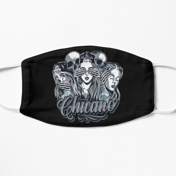Chicano Face Masks Redbubble