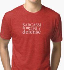 only defense Tri-blend T-Shirt