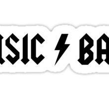 30 Rock - Music Band Sticker