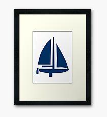 Sailing boat Framed Print