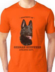 German Shepherd Athletic Dept. Unisex T-Shirt