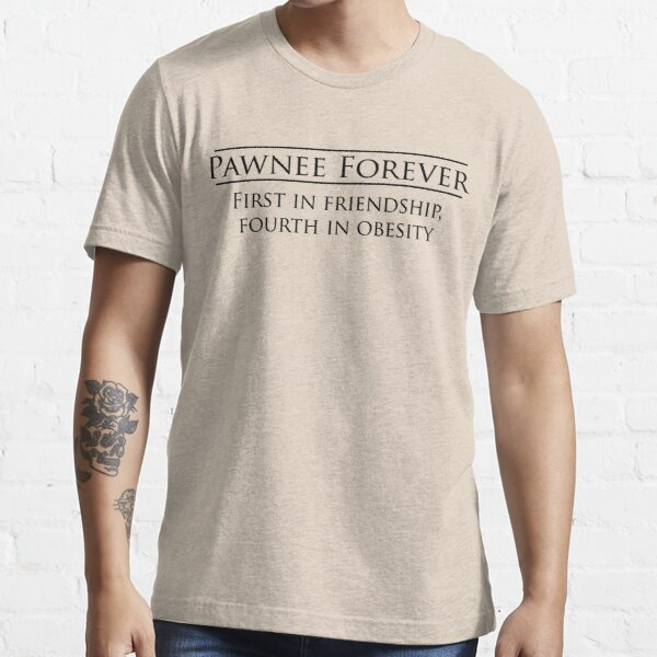 Parks and Recreation - Pawnee Forever Essential T-Shirt
