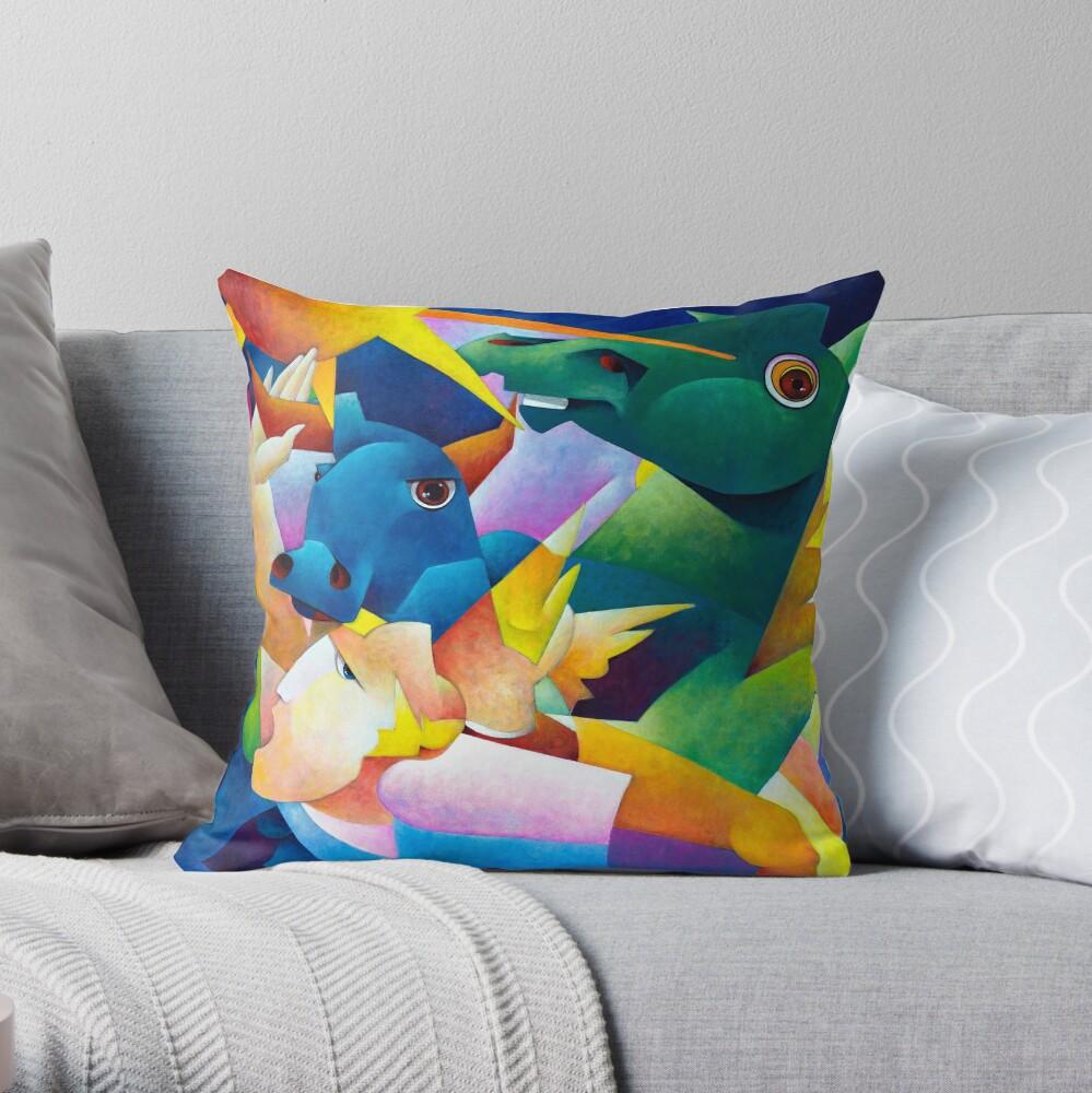 My Guernica Throw Pillow
