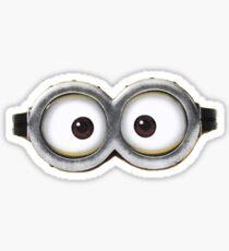 Minion Goggle Sticker