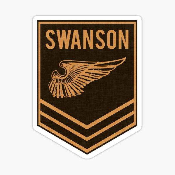 Parks and Recreation - Swanson Ranger Club, covid, quarantine Sticker