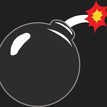 COMIC BOOK: BOMB by MDRMDRMDR