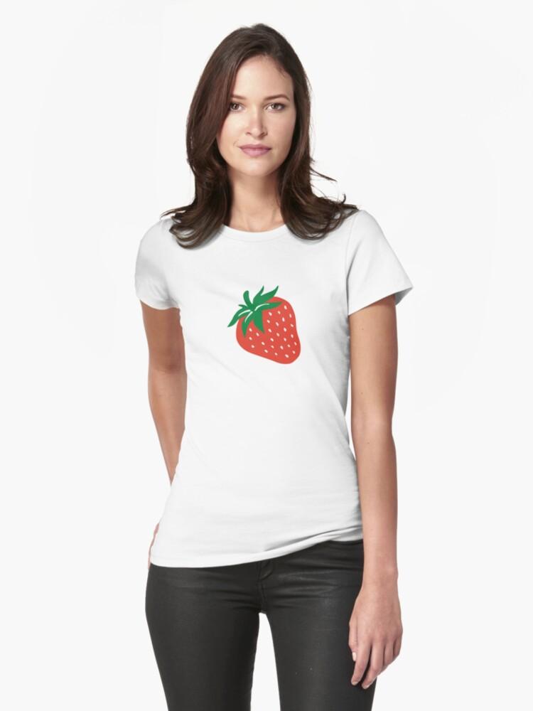 Red strawberry by Designzz