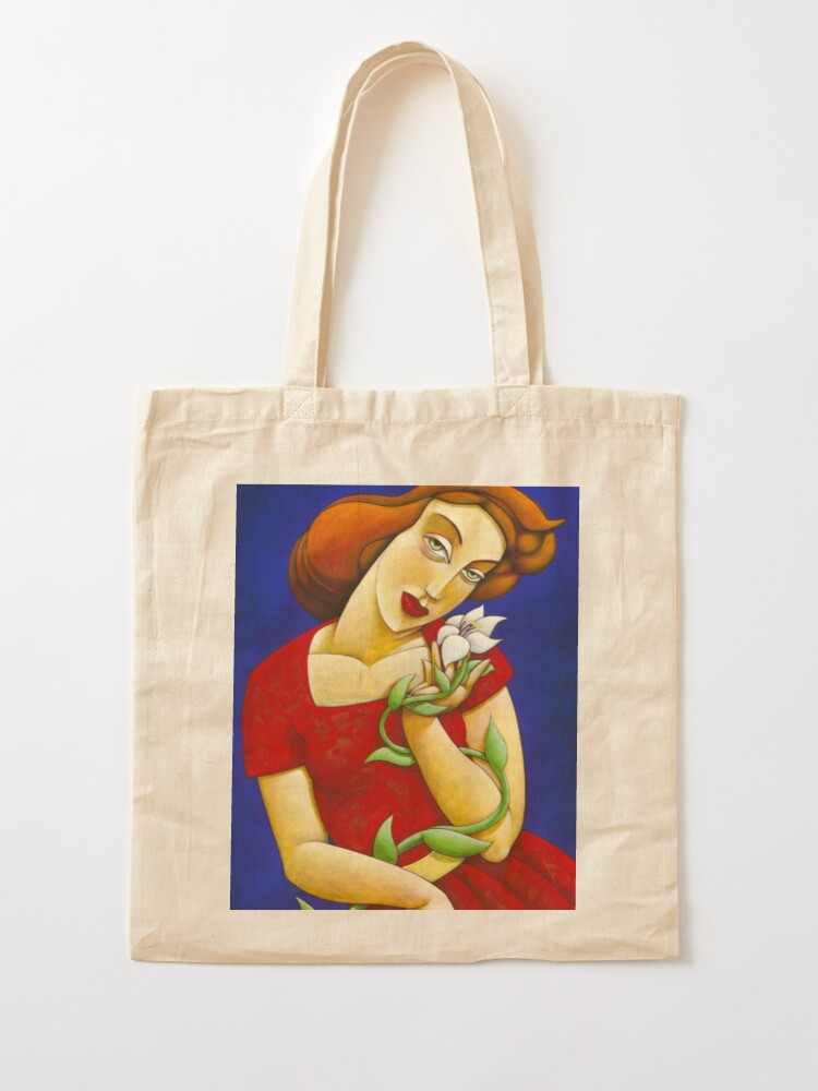 Alternate view of Blooming beauty Tote Bag