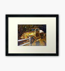 Truck Framed Print