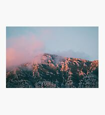 Mountains in the background VI Photographic Print