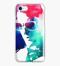 rainbow glasses profile iPhone Case/Skin