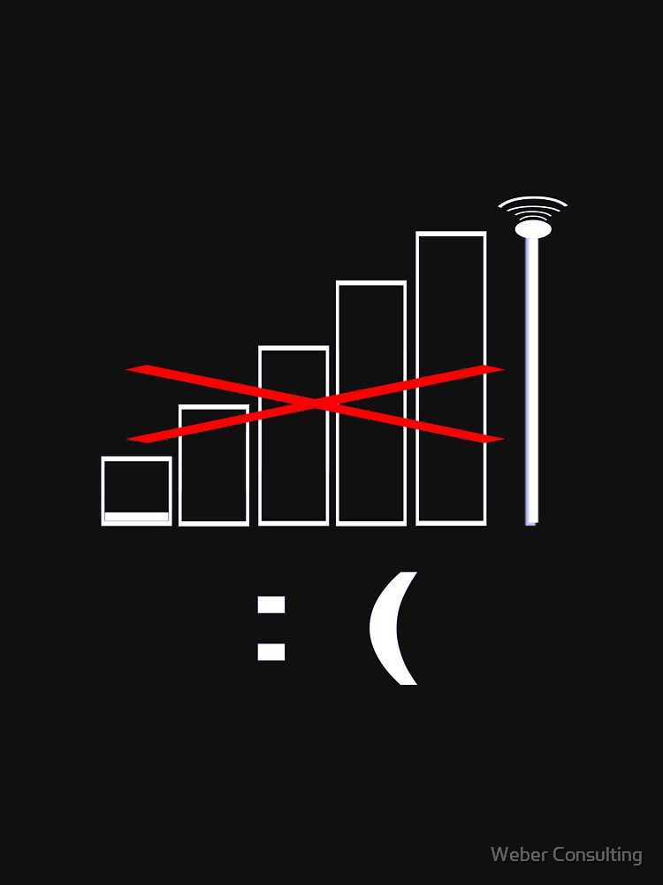No signal, no bars. Unhappy. by HalfNote5