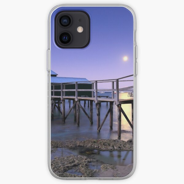 Moonrise at Shelley Beach - Portsea iPhone Soft Case