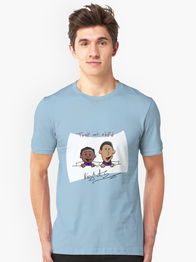 Troy and Abed Nights Unisex T-Shirt Front