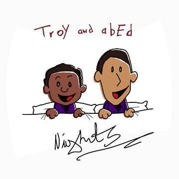 Troy and Abed Nights by justinbysma