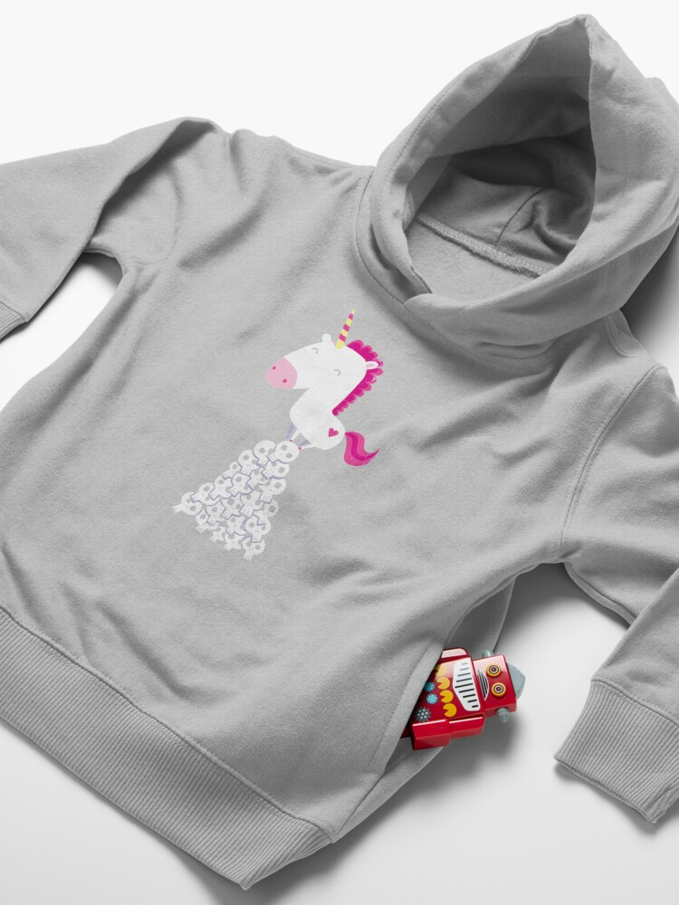 Alternate view of Killer Unicorn Toddler Pullover Hoodie