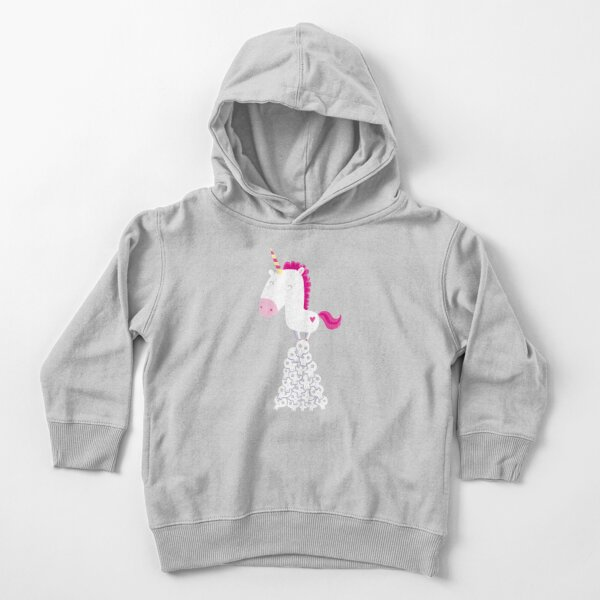 Killer Unicorn Toddler Pullover Hoodie