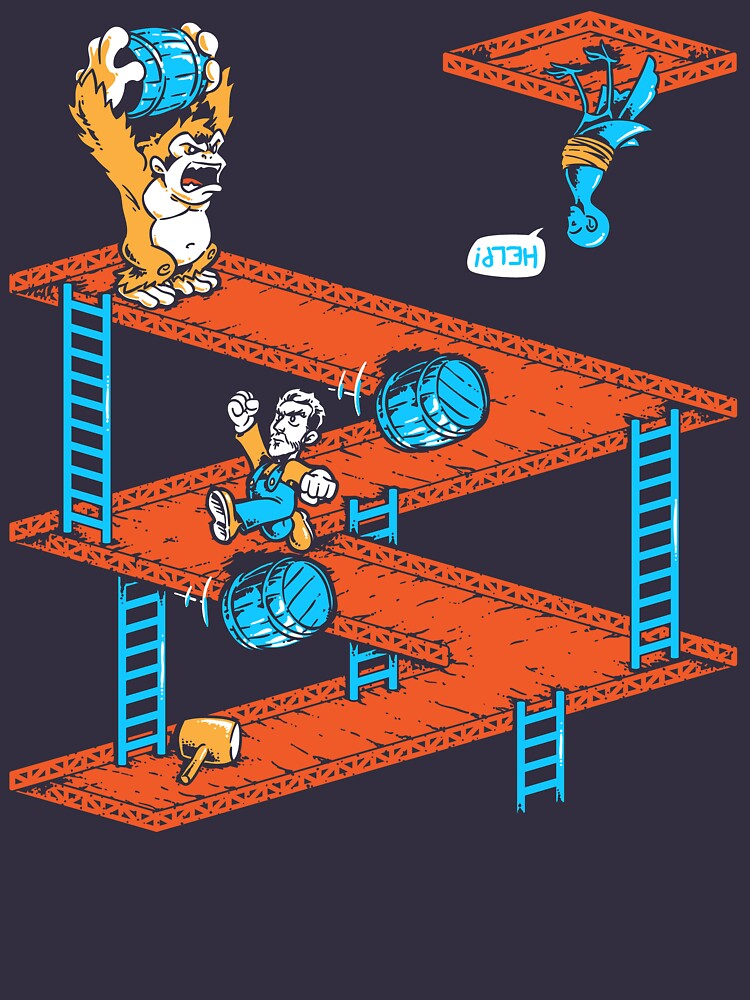 TShirtGifter presents: Escher Kong | Unisex T-Shirt