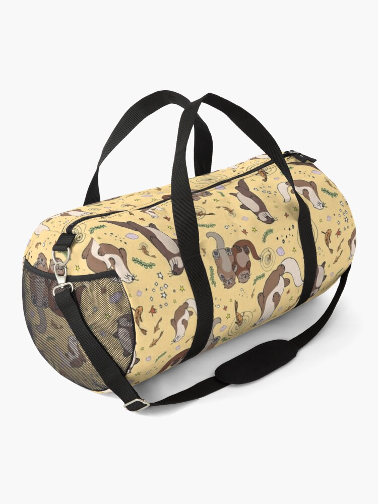 Alternate view of Otters in Yellow Duffle Bag
