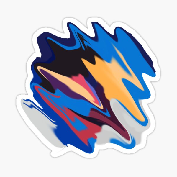 lorde melodrama album covers - liquified Sticker