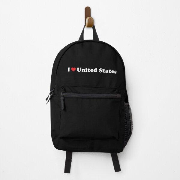 I ❤️ United States Backpack