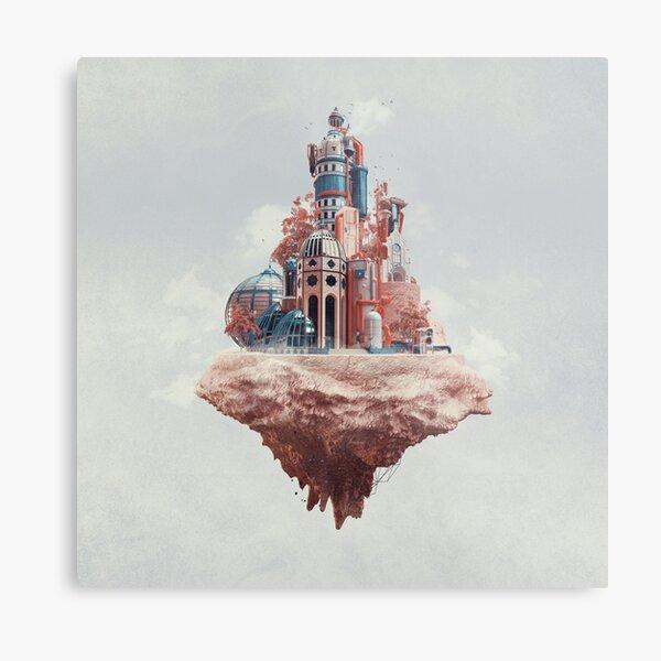 Crystal Castle Metal Print