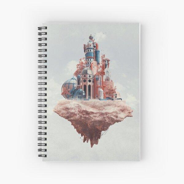 Crystal Castle Spiral Notebook
