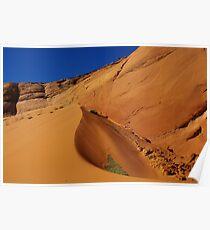 Dune near Peek-A-Boo Slot Canyon, Utah Poster