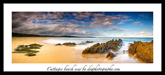 Cuttagee beach by donnnnnny