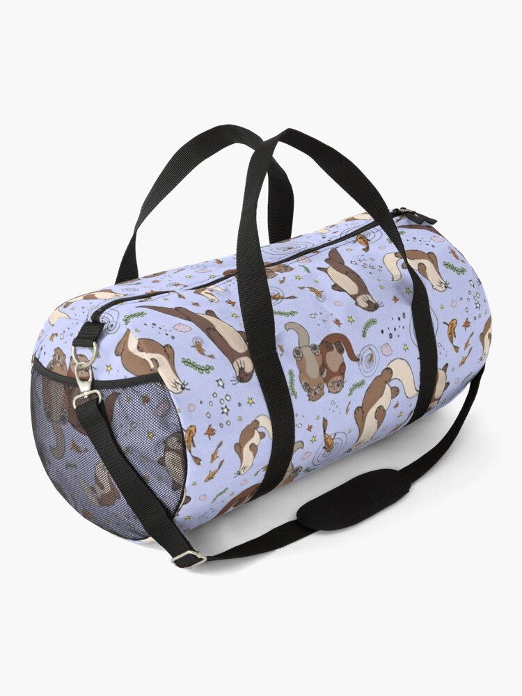 Alternate view of Otters in Purple Duffle Bag