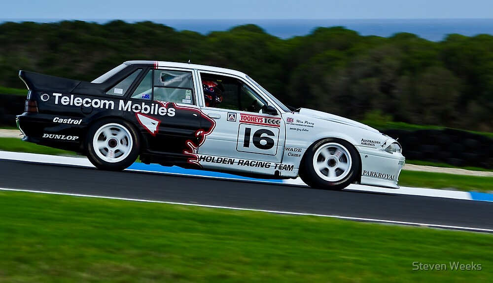 Gary Collins - 1990 Holden VL Commodore Group A SS SV by Steven Weeks