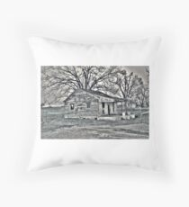 Ramshackle Throw Pillow
