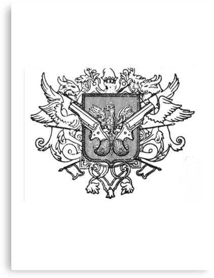 Steampunk Coat of Arms by CatAstrophe