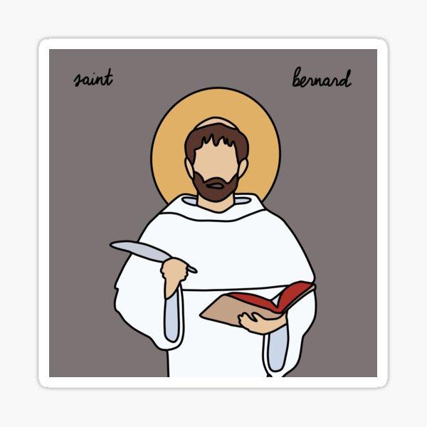 Saint Bernard Sticker